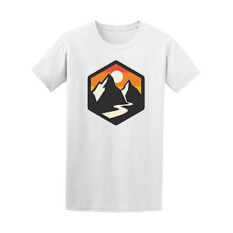 Mountains Icon Graphic Tee - Image by Shutterstock