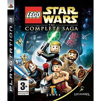 LEGO Star Wars The Complete Saga (PS3) - New