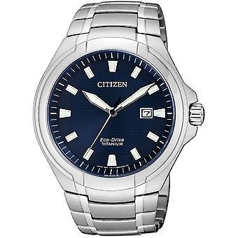 Citizen Herrenuhr Eco-Drive Titanium BM7430-89L