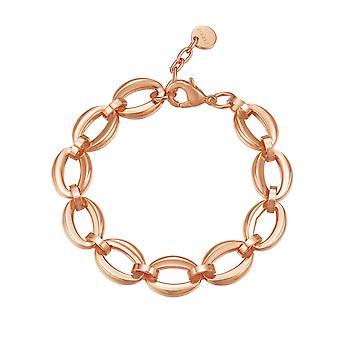 ESPRIT Mesdames bracelet en acier inoxydable Rosé pur liens ESBR11869C180