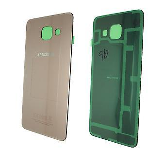 Echte Samsung Galaxy A3 - SM-A310 - 2016 - Achterkant - Roségoud - GH82-11093D