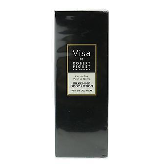Robert Piguet 'Visa' Silkening Body Lotion 10oz/300ml New In Box