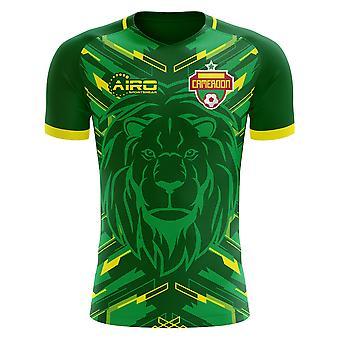 Koszuli piłki nożnej 2018-2019 Kamerun Home Concept (dla dzieci)
