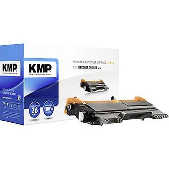 KMP toner patron erstattet Brother TN-2010, TN2010 kompatibel sort 1000 sider B-T73