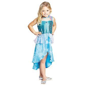 Meerjungfrau kleid Kostüm für Kinder