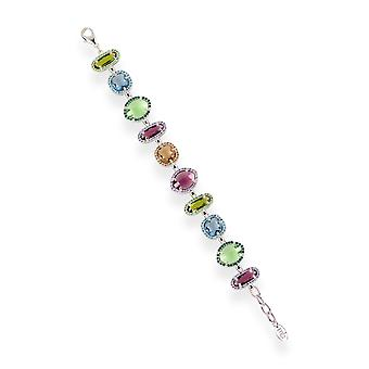 Multicolor bracelets with crystals from Swarovski 6261