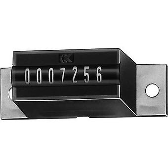 Kübler AK 07.00 24 V/DC Summing up counter type AK 07 7-digit Assembly dimensions 29 x 14 mm