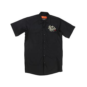 Lucky 13 men's short-sleeved shirt vintage iron