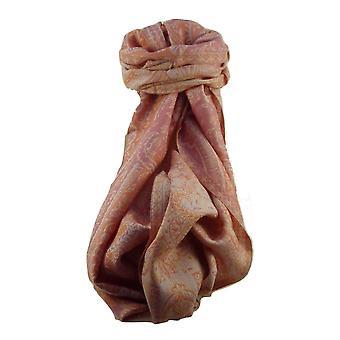 Muffler Scarf 7393 in Fine Pashmina Wool Heritage Range by Pashmina & Silk