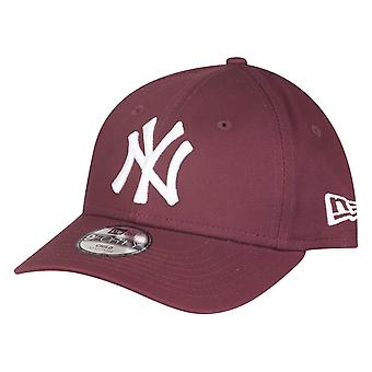 New era 9Forty kids Cap - New York Yankees maroon