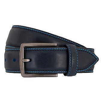 MIGUEL BELLIDO sports wear belts men's belts leather belt blue 7711