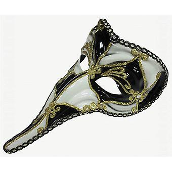 Loki Mask. Black / White.