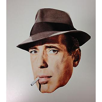 Humphrey Bogart Card Fancy Dress Mask