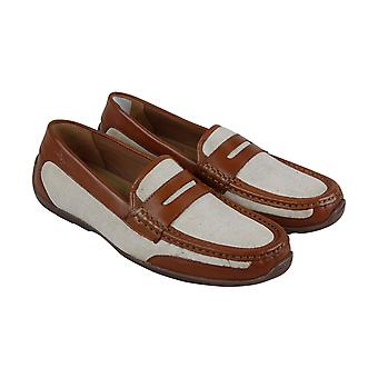 Tommy Bahama Taza Fronds  Mens Brown Casual Slip On Loafers Shoes