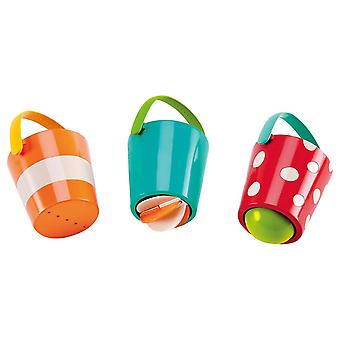 Hape internationale Hape Hap-E0205 gelukkig emmers Set