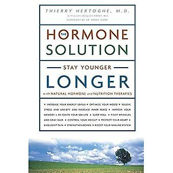 Solução de hormônio