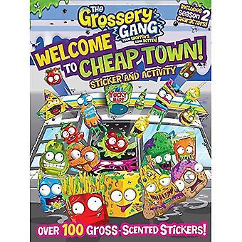 Le Gang Grossery: Bienvenue dans la ville pas cher!: autocollant et activité