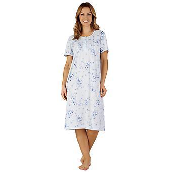 Slenderella ND3122 kvinders Jersey nat kjole Loungewear natkjole