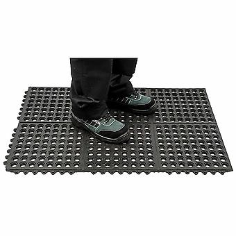 Portwest - Anti tretthet Mat Heavy Duty Black vanlig