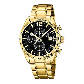 Festina F20266/3 chronograph 44 Mm Watch