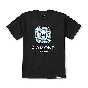 Diamond Supply Co Asscher Cut T-shirt Black