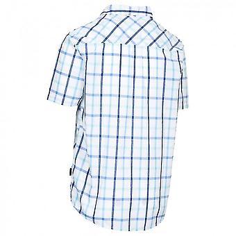 Hausfriedensbruch Mens Arviat Kurzarm Check Shirt