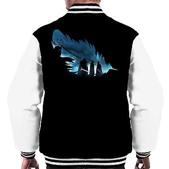 O jogo de penas dos tronos Men ' s Varsity Jacket