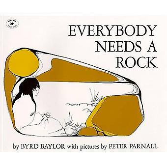 Everybody Needs a Rock by Byrd Baylor - Peter Parnall - 9780684138992