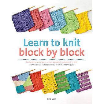 Lær at strikke blokvis - For begyndere og op - en unik jor