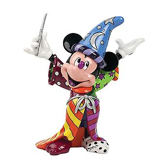 Britto Disney Sorcerer Mickey Mouse Figurine