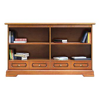 Bookcase Low Width double
