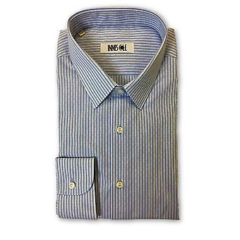 Ingram shirt in blue stripe pattern