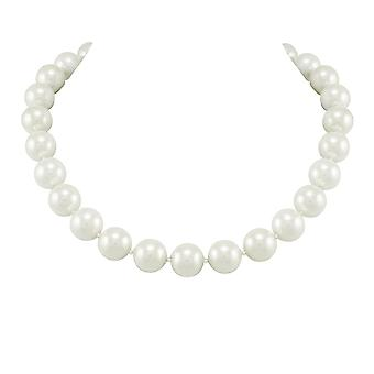 Eternal Collection La Perla White South Sea Shell Pearl Necklace