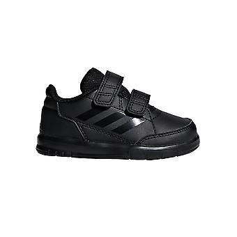 adidas AltaSport Infant Kids Strap Sports Fashion Trainer Shoe Black