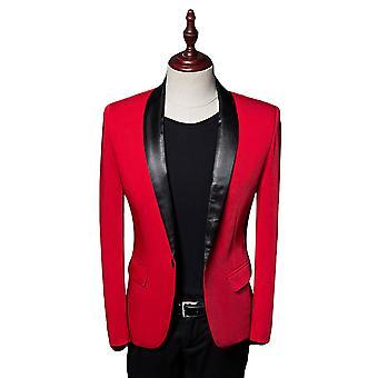Alle Themen Herren Tuxedos Blazer Hochzeit Schal Kragen Casual Anzug Jacke