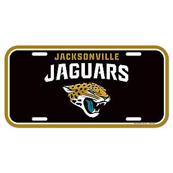 Wincraft NFL لوحه الترخيص-جاكسونفيل النمور