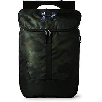 Sub Armour UA Expandable Sackpack - Unisex Adult Rucsac - Brown (Desert Nisip Negru) - O dimensiune