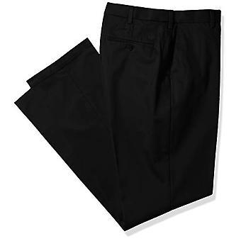 Dockers Men's Big and Tall Classic Fit Signature Khaki, Black, Size 44W x 32L