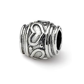 925 Sterling Silver acabamento Reflexões SimStars Love Heart Bead Charm Colar de Jóias Jóias para Mulheres
