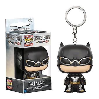 Justice League Movie Batman Pocket Pop! Keychain