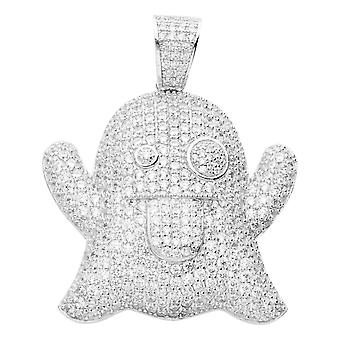 Prime Bling - pendentif GHOST en argent 925