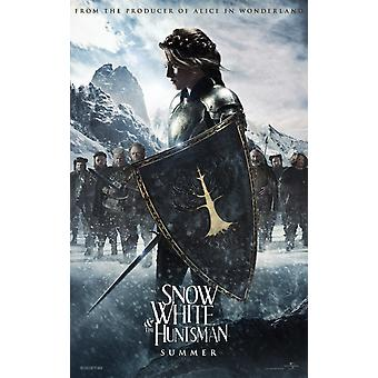 Biancaneve e il cacciatore Poster doppio lato avanzata (2012) Poster originale del cinema