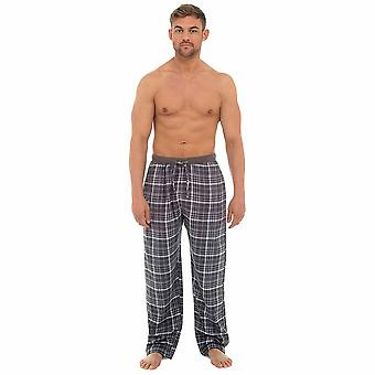 Foxbury Mens Check xadrez Pyjama fundos salão desgaste calças