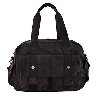 Weekendbag, kangas-täysi musta