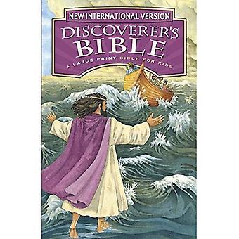 Bible, imprimé à gros caractères, couverture rigide du NIV découvreur