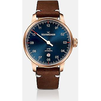 MeisterSinger Men's Watch AM917BR_SVF02