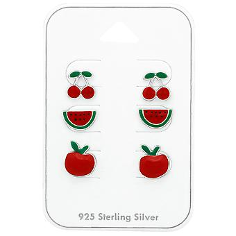 Fruit - 925 Sterling Silver Sets - W38714x