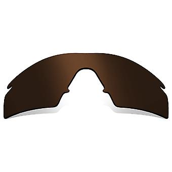 Polarized Replacement Lenses for Oakley M Frame Strike Frame Brown Anti-Scratch Anti-Glare UV400 by SeekOptics
