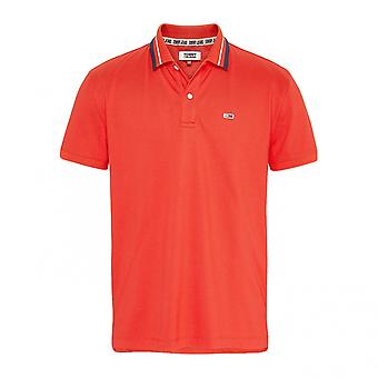 Polo Tommy Hilfiger Classics Stretch Polo Rood
