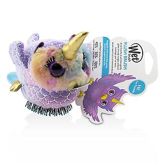 Wet Brush Plush Brush - # Owl Unicorn - 1pc